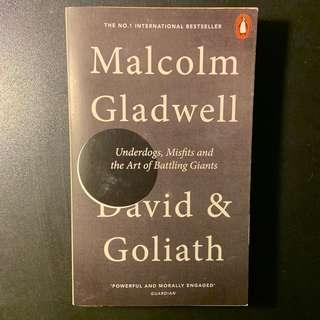 🚚 DAVID & GOLIATH by MALCOLM GLADWELL