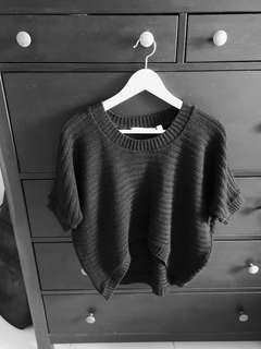 #EndgameYourExcess New Look Knitted Crop Top in Chic Black