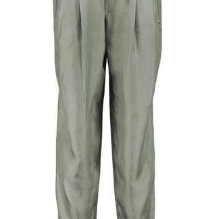 Rag and Bone  wide leg silk Crepe de Chine pants