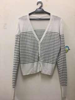 #APR10 Cotton on Stripe Cardigan
