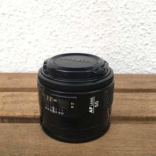 Minolta AF 50mm f1.7