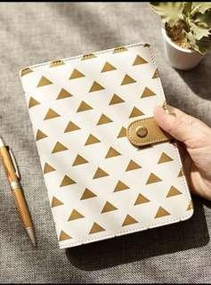 Brand new pvc leather diary organiser A5/6