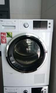 Brand new TEKA dryer and washing