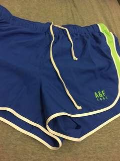 A&F Abercrombie and Fitch 跑褲 短褲 sizeL
