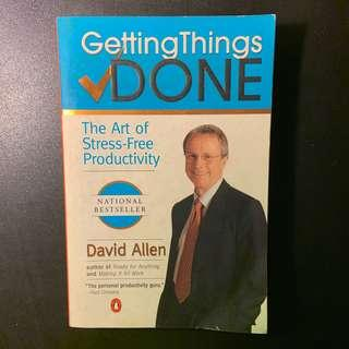 🚚 GETTING THINGS DONE : THE ART OF STRESS-FREE PRODUCTIVITY
