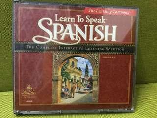 Learn to Speak Spanish Complete Course 學西班牙語