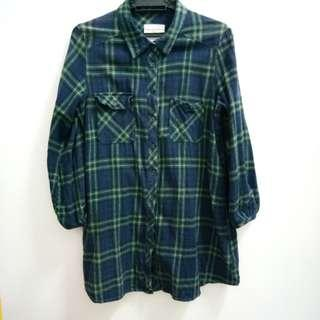 Flannel Baggy Fit to L