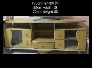 Wooden TV Console Table