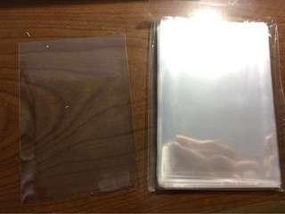 3R 5吋 生寫真 照片 相片透明 膠套 膠袋 平口袋