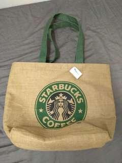 95%新,Starbucks Tote Bag
