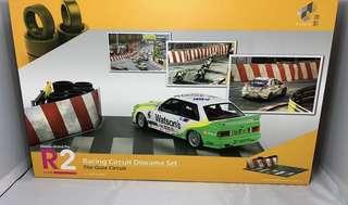 1:18 Tiny Macau Grand Prix R2 Diorama Set 澳門格蘭披治賽車場景
