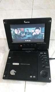 Euron Portable DVD/TV player