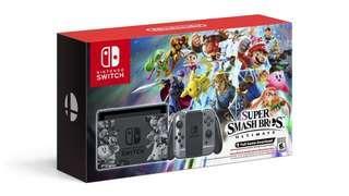 Nintendo Switch Super Smash Bros Ultimate Console