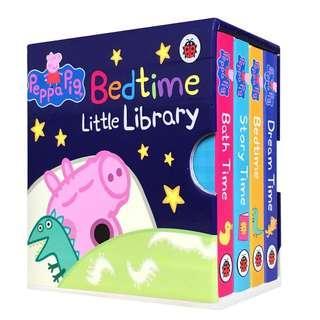 🐷Peppa's Pig Bedtime Little Library  <一套4本英語手掌書📚> #kids300