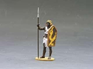 King & Country Toy Soldiers - AE028 Nubian Slave Guard BNIB