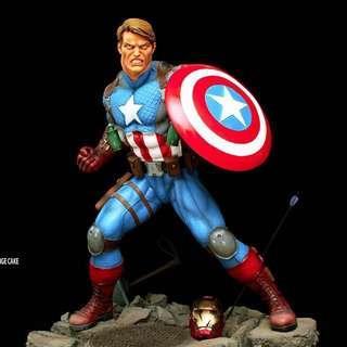 Custom 1/4 Scale Captain America: Last Man Standing