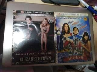 2 dvd movies sky high and Elizabeth town