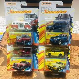 Matchbox Superfast 50th Anniversary