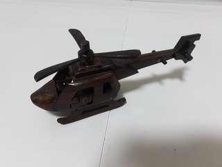 Wooden Handcraft Helicopter Free