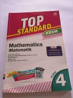 Form 4 revision maths book