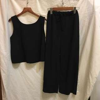 雪紡上衣+褲子