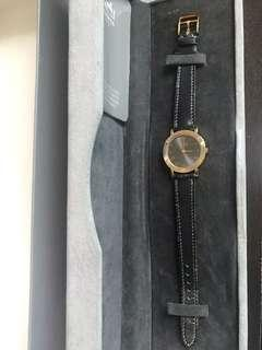 Auth. 90s  Hermes Faubourg Ladies Quartz Watch