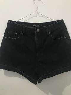Celana Pendek Jeans Bershka