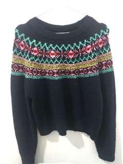 Sweater Rajut PULL AND BEAR
