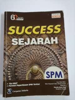 Success sejarah revision book