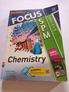 SPM Reference chemistry books