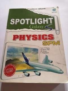 SPM Reference physics book