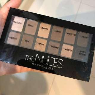 [RM15!!] Maybelline The Nudes