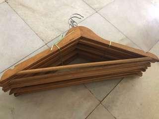Wooden Hanger x10