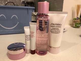 Shiseido travel set