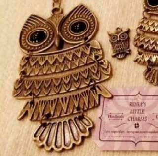 🆕 Owl Long Necklace