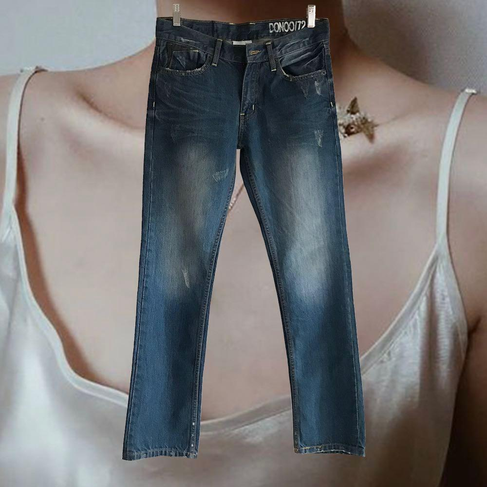 【最低價最低價-9成新】牛仔長褲