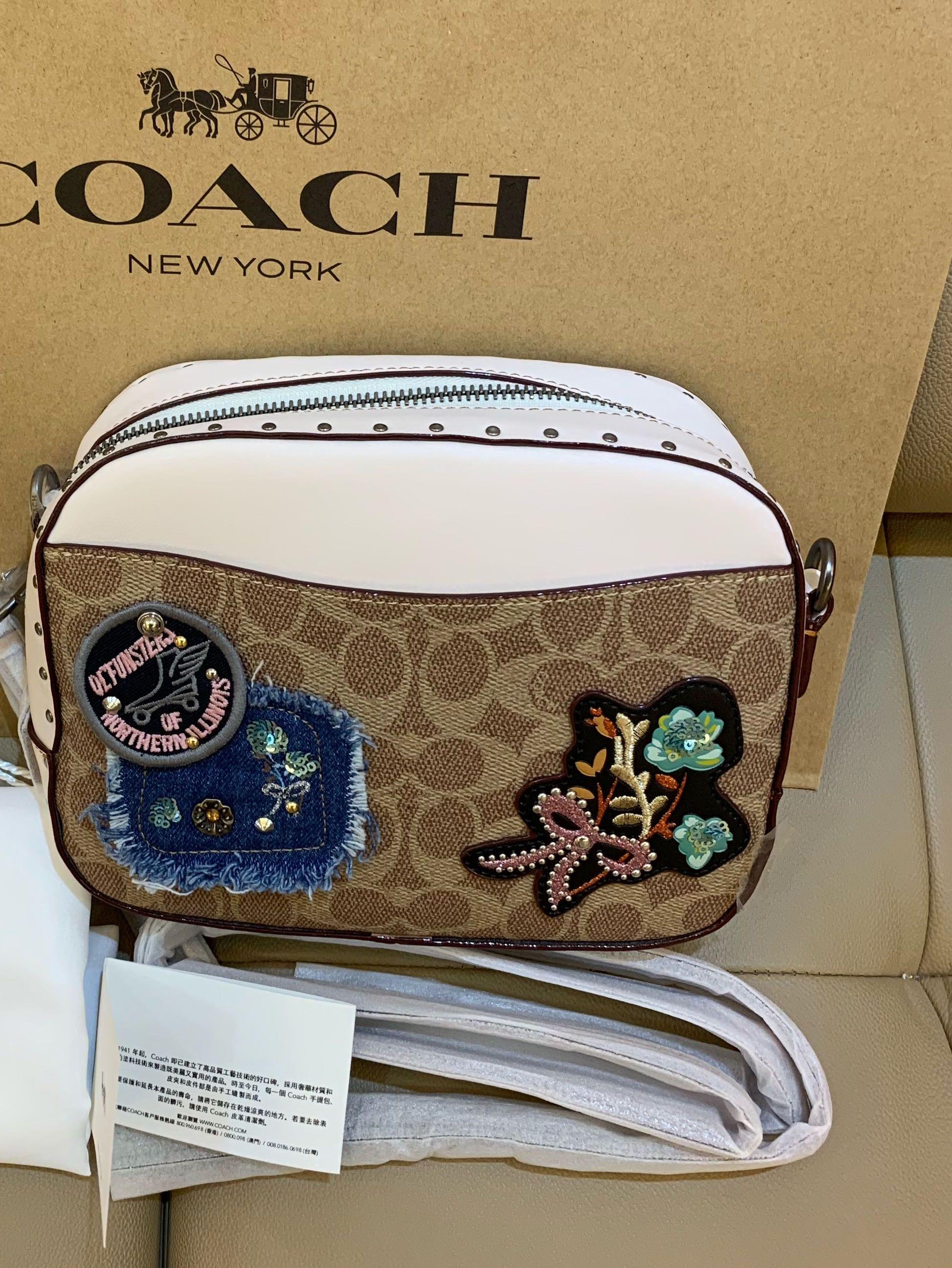 Authentic coach ready stock 30245 camera bag