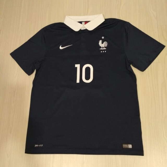 553a275d518 Authentic Original Nike France World Cup soccer jersey size L ...