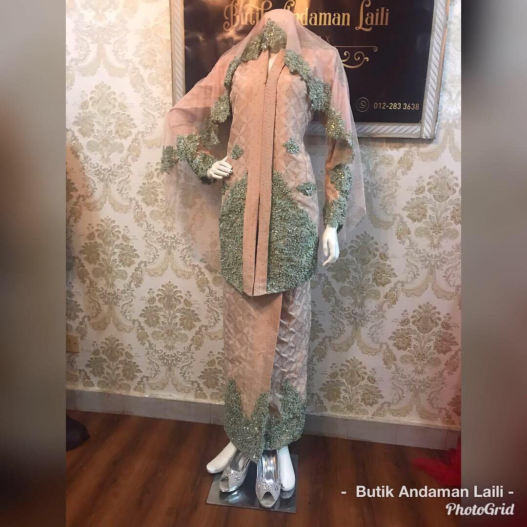 Baju pengantin Kebaya songket (rent)