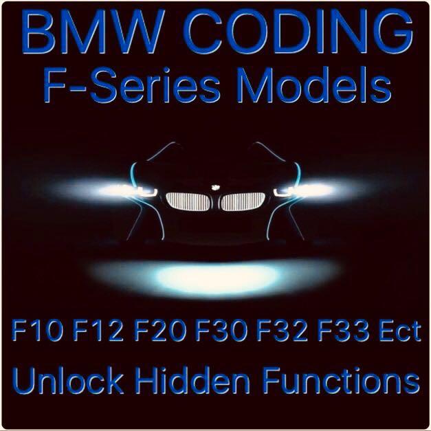 BMW F30 (All F & G Series) Coding - Unlock Hidden Features