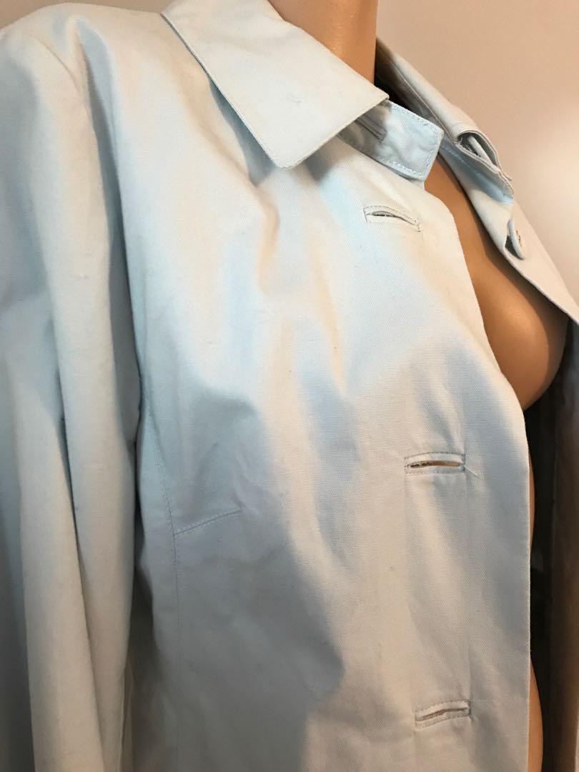 BNWT - Vintage H&M - Light Blue Button Down Jacket