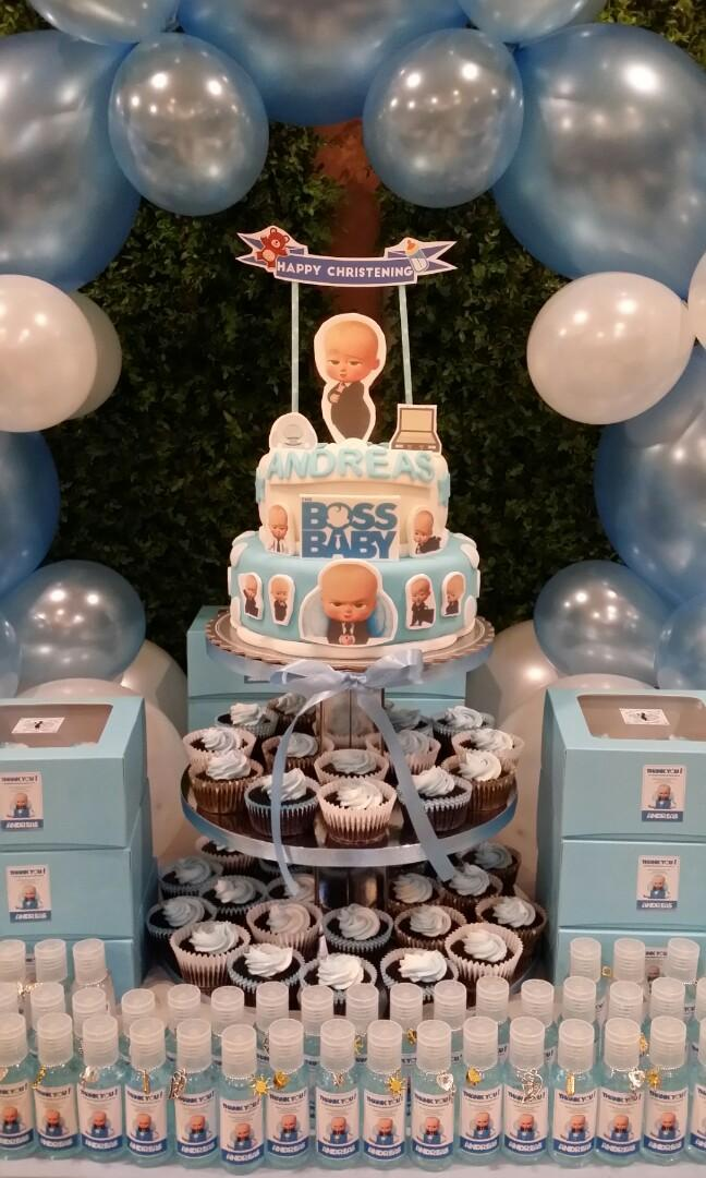 Boss Baby Baptismal Party Package On Carousell