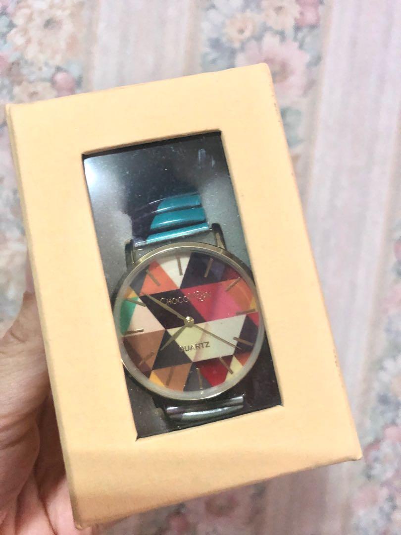 Watch ladies chocomoon geometric Women's watches