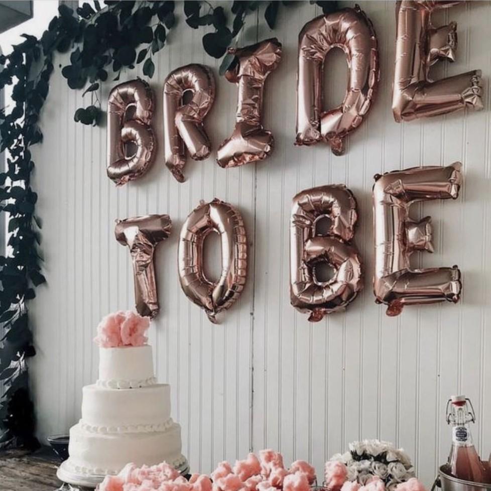 Bridal shower 單身派對 #balloons props氣球裝飾道具