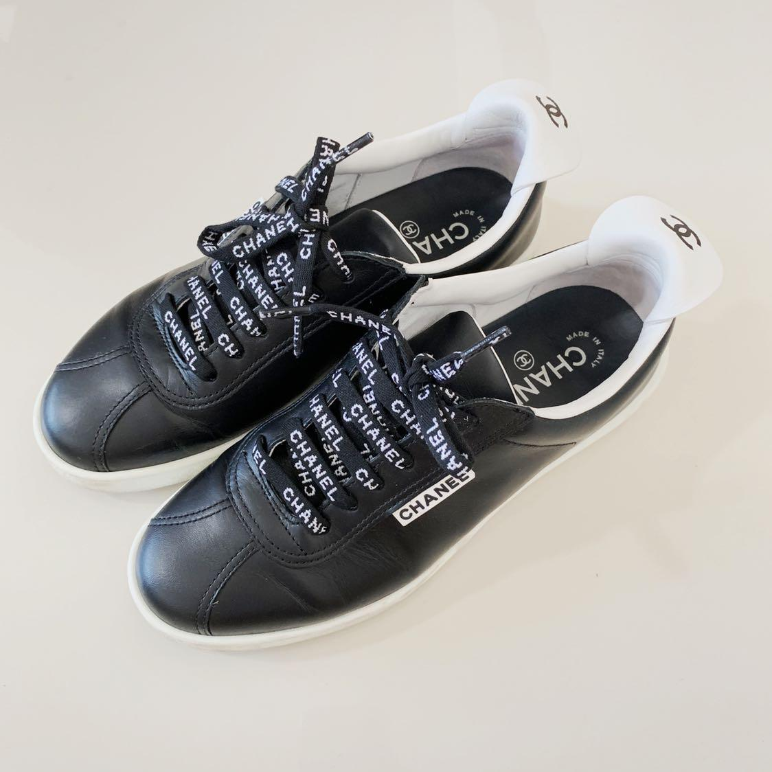 Chanel Sneakers Size 37, Luxury, Shoes