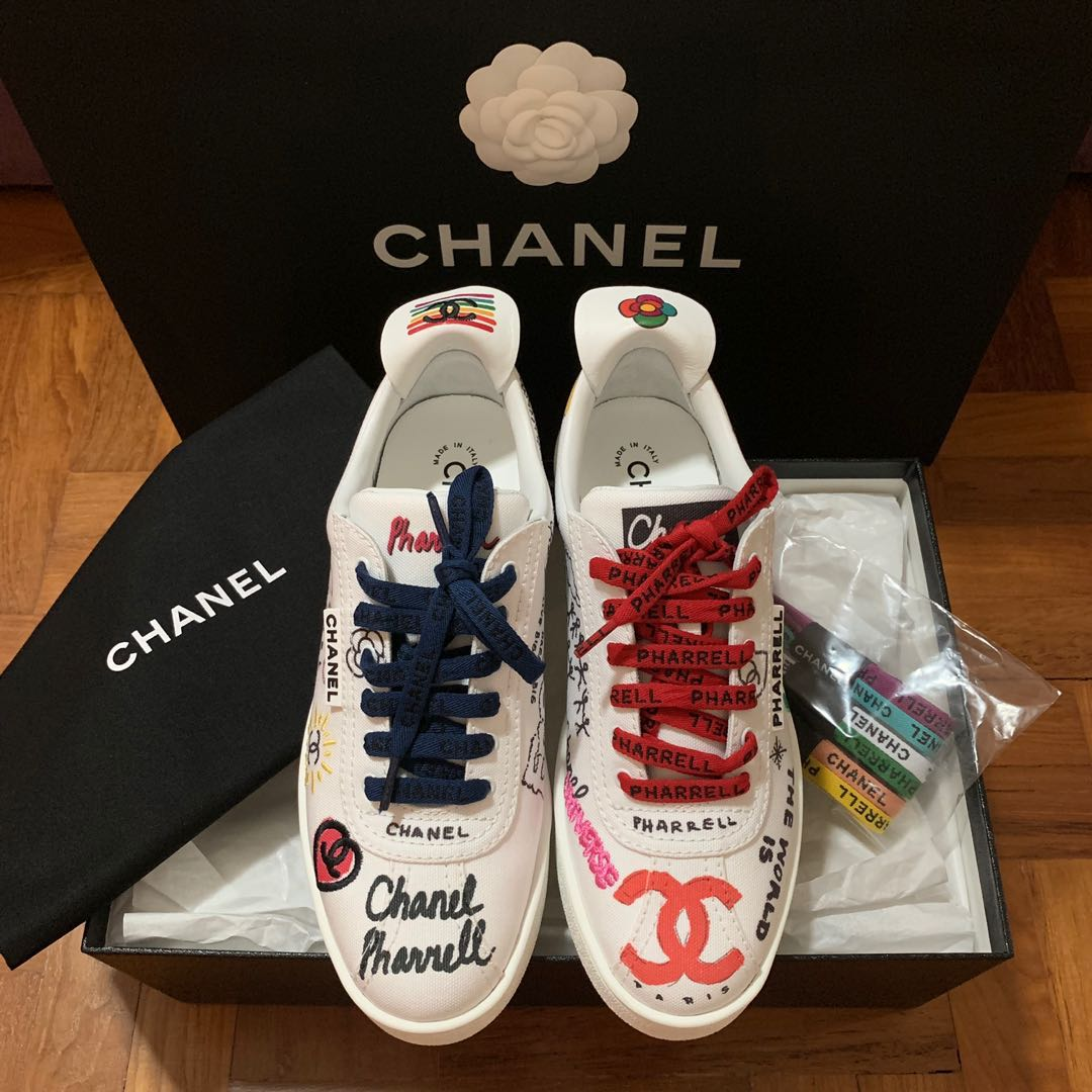 4364b8a60 Chanel x Pharrell Limited Edition Sneakers Women EU38