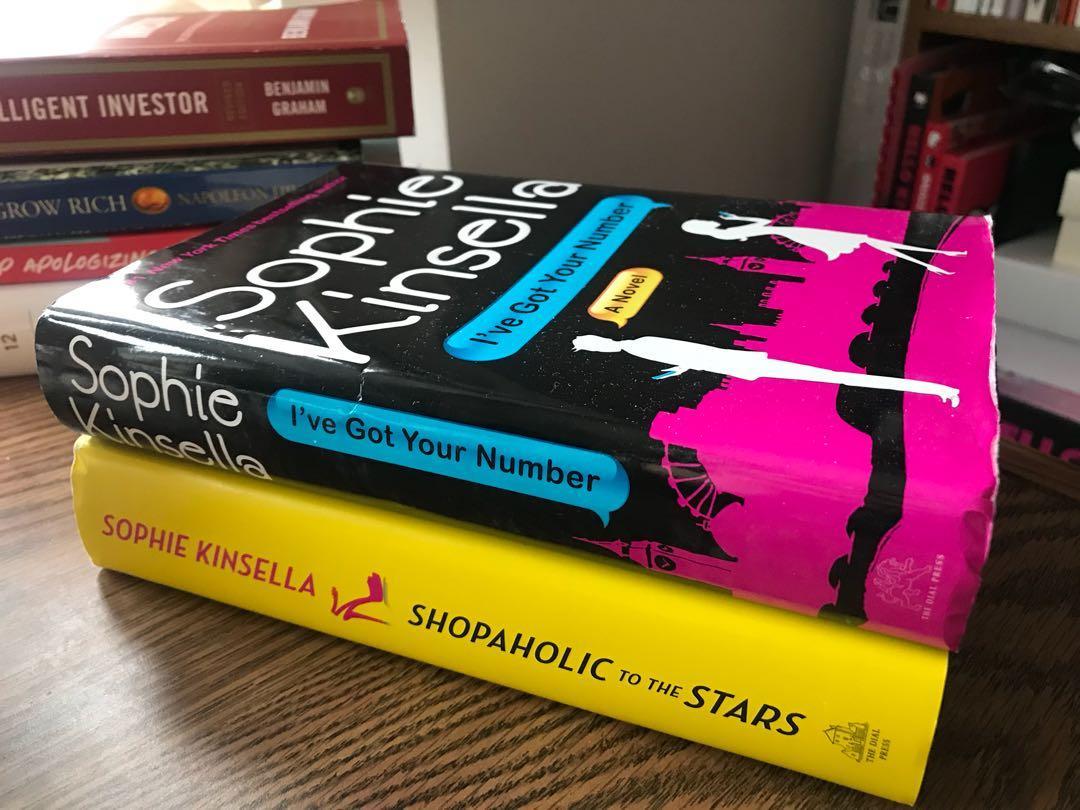 Confessions of a Shopaholic Books - Sophie Kinsella