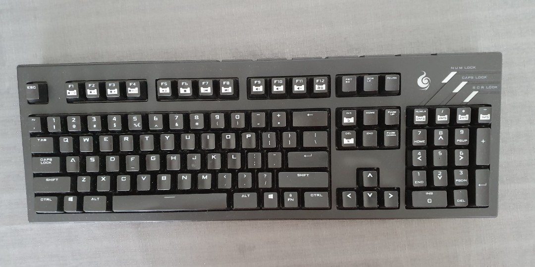 f5cb3036281 Coolermaster Ultimate Quick Fire Mechanical Keyboard, Electronics ...