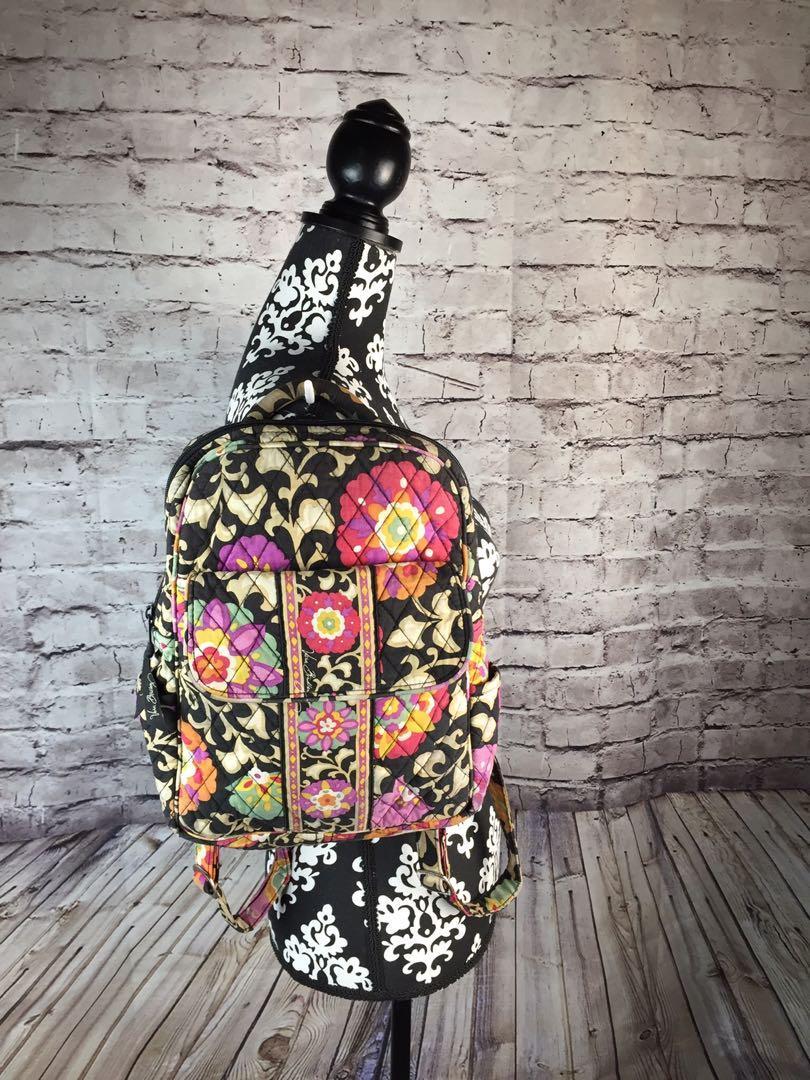 Discontinued VERA BRADLEY SUZANI School BAG Travel Tote BACKPACK