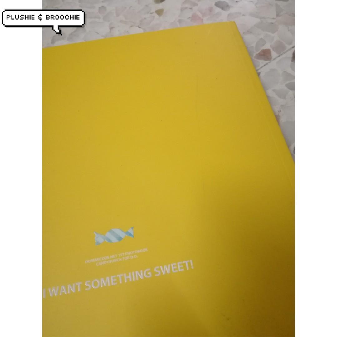 Doremicode.net 1st photobook version of exo-k D.O kyungsoo (candy bunch)
